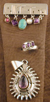 SS Ring, Pendant and Pin Set - PENDANT